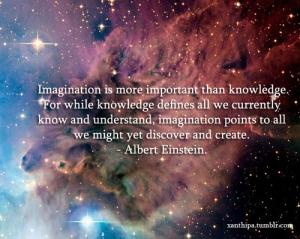 imagination - einstein