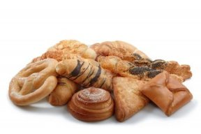 Bakery foods produced with inferior quality processed fats
