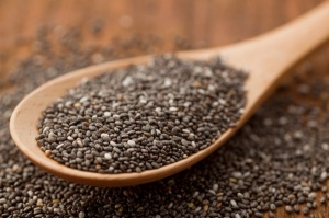 Tablespoon of chia seeds