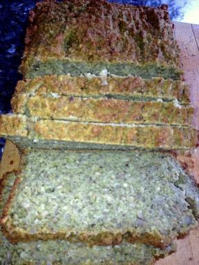 Fresh gluten free seed bread