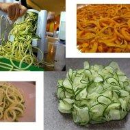Spiralized vegetables