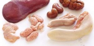 organ meats