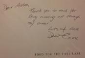 Cherished personalised signature :-)