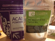 Powders for smoothies and baking