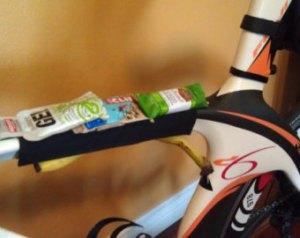 eating on the bike
