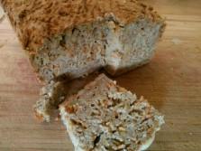 Bread - carrot, oat, chestnut gluten-free flour