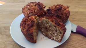 Coffee-date recovery muffins 5