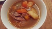Nurturing lean lamb stew