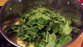 Add your spinach